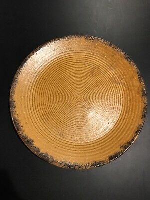 Vintage McCoy Canyon Mesa Serving Platter or Chop Plate Round 12.25""