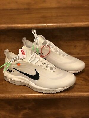 watch a5297 e1391 THE TEN: NIKE Air Max 97 OG X Off-White Size 9.5