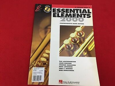 Essential Elements 2000 - Bb Flat Trumpet - Book 2 - With CD -
