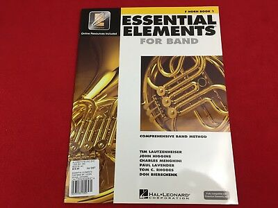 Essential Elements For Band - F Horn - Book 1 - EEi