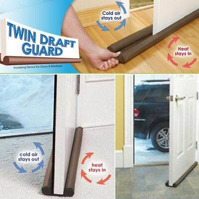 Home Household Under Window Door Fabric Double Sided Draft Guard Stopper Mat G6