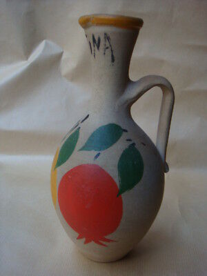 Old Greek Handmade Ceramic From Aigina Island