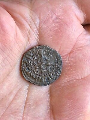 Medieval Bronze Coin To Be Catalogued. Nice Item!