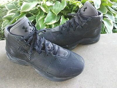 ca654934de83 UNDER ARMOUR Seth Curry Basketball Shoes Mens size 10 Black Sneakers SC  FREESHIP