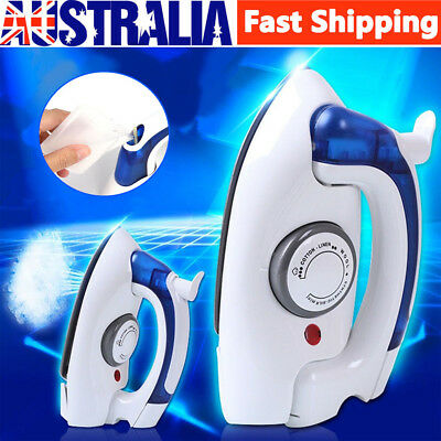 Foldable Portable Handheld Temperature Control Clothes Steam Steamer Travel Iron