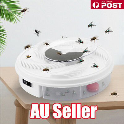 Hot USB Electric Fly Trap Artifact with Trapping Food Automatic Flycatcher DM