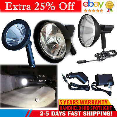 CREE LED 98000LM 980W Rechargeable Spotlight Hunting Hand Held Torch Spot Light