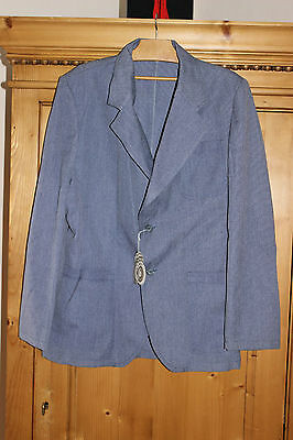 Antique jacket grandfather - Blue - Viscose Polyester - New with tag