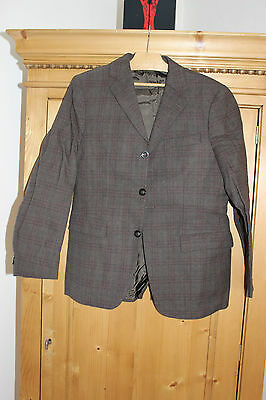 Antique jacket grandfather brown chequered - Wool - New without label