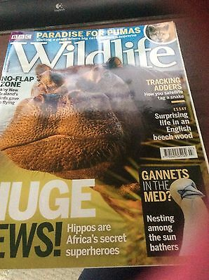 BBC wildlife magazine July 2016