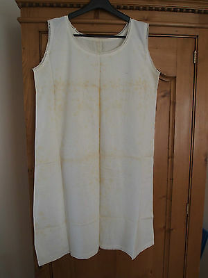 Antique babydoll Dress white - Embroidered - Handcrafted - - - N°6