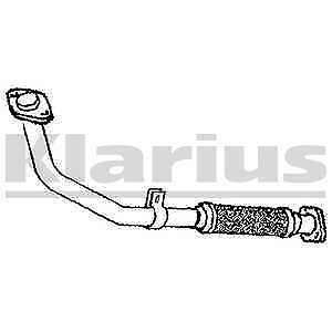 1x KLARIUS OE Quality Replacement Exhaust Pipe Exhaust For MITSUBISHI Petrol