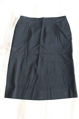 Antique black skirt - T. 38 40 - starboard wing - Handcrafted