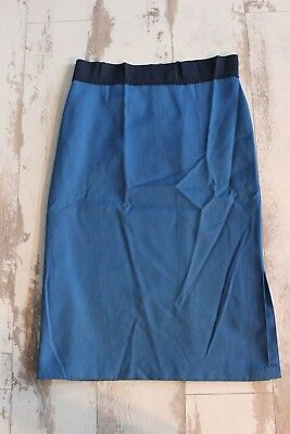Antique skirting blue Handcrafted T. 42 Starboard wing Elastic to the size