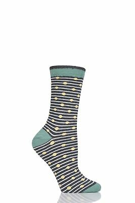 Mens 1 Pair Thought Starboard Bamboo and Organic Cotton Socks