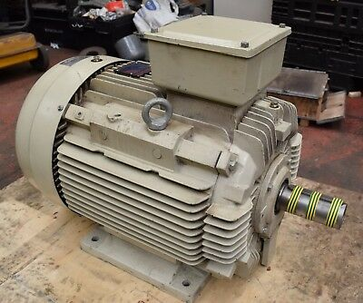 TECO 37kW Electric Motor 4-Pole B3 Foot 225S Frame 3-Phase 1475RPM 400/690v