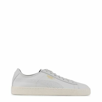 4094258970ff PUMA MEN S BASKET Classic Soft leather White Sneakers Shoes 363824 ...