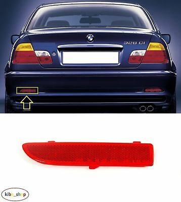 Bmw 3 E46 Coupe 1999 - 2003 New Rear Bumper Reflector Lens Left N/s Passenger