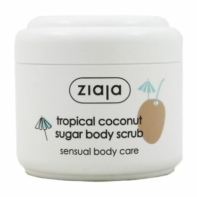 Ziaja Tropical Coconut Sugar Body Scrub Limited Edition 100 ml - Körperpeeling
