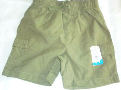 the latest 3a4c1 a6908 New, Toddler Boys, Jumping Beans Cargo Green Shorts, Size 18 Mos