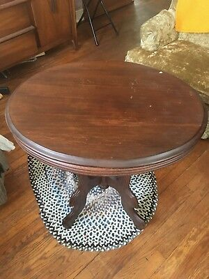 Antique Small Oval Table