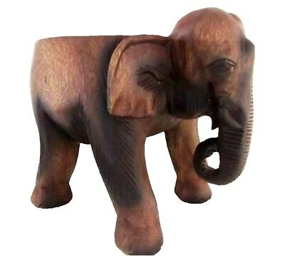 Stupendous Hand Carved Wood Elephant Stool Decorative Flower Pot Plant Onthecornerstone Fun Painted Chair Ideas Images Onthecornerstoneorg