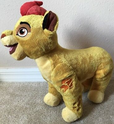 "Disney Store The Lion King Guard Kion Plush Clean 14"" Embroidered Features"