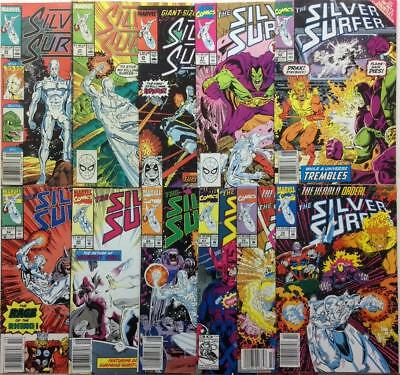 Silver Surfer Collector pack. 11 x issues from the 2nd series. (1988 Marvel)