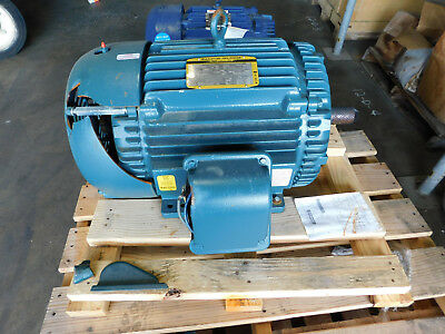 NEW Baldor Reliance Electric Motor 40 HP 230/460 Volts 324TS Frame 1.15 SF NEW