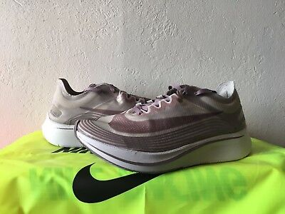 NIKE NIKELAB ZOOM Fly SP Chicago Taupe Grey Obsidian AA3172-200 Sz 9 ... eceed1fcf