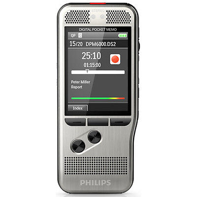 Philips DPM6000 Digital Pocket Memo Push-Button Digital Recorder