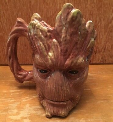 NEW MARVEL GUARDIANS OF THE GALAXY CERAMIC GROOT COFFEE MUG Funky