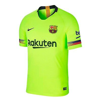 save off 4817e 85af9 NIKE FC BARCELONA Jersey 2019 Vapor Match Authentic Messi Football Soccer  Away