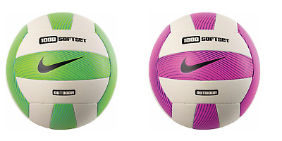NIKE 1000 SOFTSET OUTDOOR VOLLEYBALL - Green or Pink