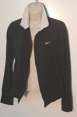 Nike Fit Dry Jacket Womens smallBlack and white