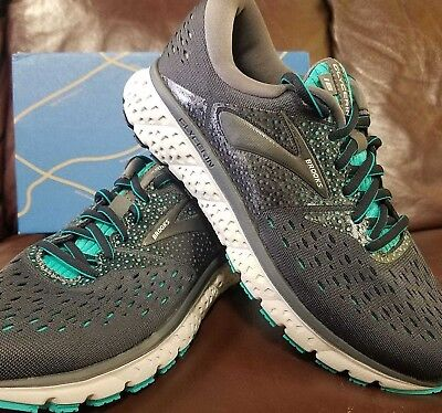 39a7f52707f BRAND NEW IN Box! Brooks Glycerin 16 Womens Running Shoes Grey Green ...