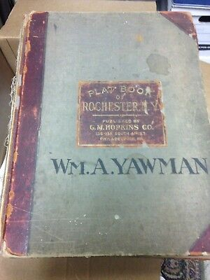 Plat Book The City Of Rochester New York, 1926