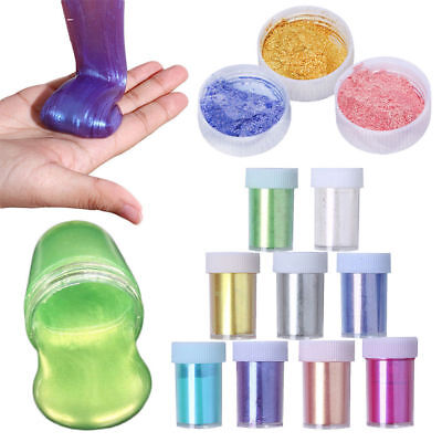 Crystal Powder Glitter Slime Reduced Pressure Mud Stress Relief Kids Clay Toy