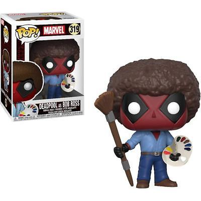 FunKo Pop Marvel: Deadpool Playtime Bob Ross 319 30865 In Stock