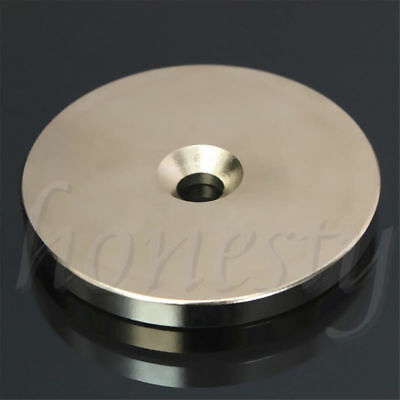 2pcs N52 Super Strong Round Magnets  Disc Rare Earth Neodymium 30mm/50mm x 5mm