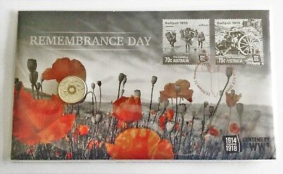 2015 Australian $2 Remembrance Day Pnc Limited Edition 520/1111