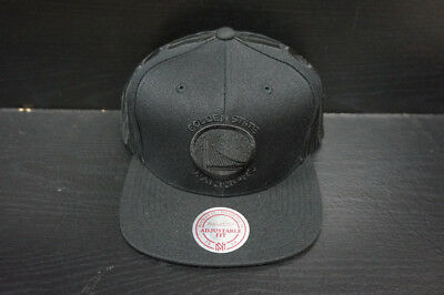online store 82920 2e2ee Golden State Warriors Mitchell and Ness Snapback Hat Custom Side Hits
