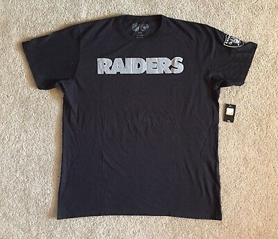 aa712a52 NEW NFL OAKLAND Raiders 47 Brand Team Apparel T-Shirt Size XL ...