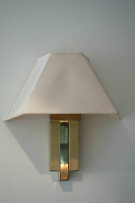 Aplique lámpara vintage LUMICA Willy Rizzo 1970s sconce wall lamp