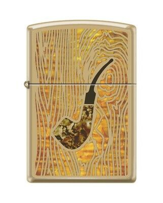 Zippo 0079 Pipe High Polish Brass Pipe Fusion Full Size Lighter