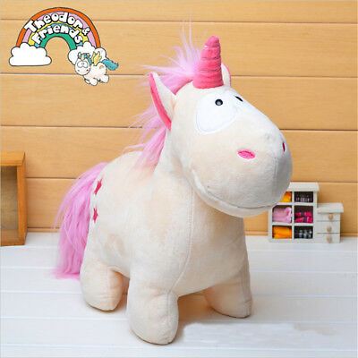 Unicorn Plush Fluffy Toy Lovely Stuffed Theodore Animal Doll Kids Gift SP