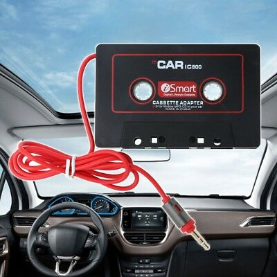 3.5mm Car AUX Audio Tape Cassette Adapter Converter For Car CD Player MP3