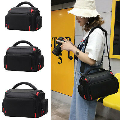 Digital Camera Backpack Bag Waterproof Case Cover SLR DSLR for Canon Nikon New