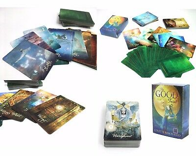 the Good Tarot Cards English version board game divination Vintage Old fashion