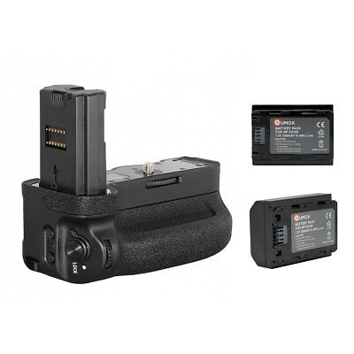 2x NP-FZ100 + Vertical Battery Grip VG-C3EM for Sony A9 A7R3 A73 A7III A7RIII